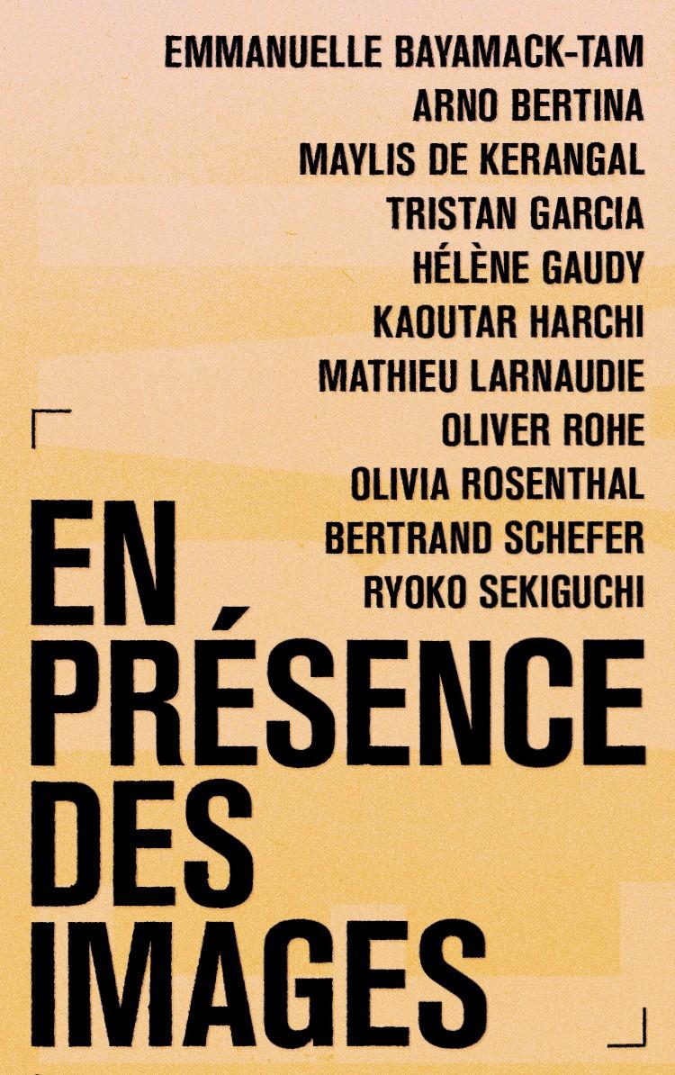 En Presence des Images in Libération